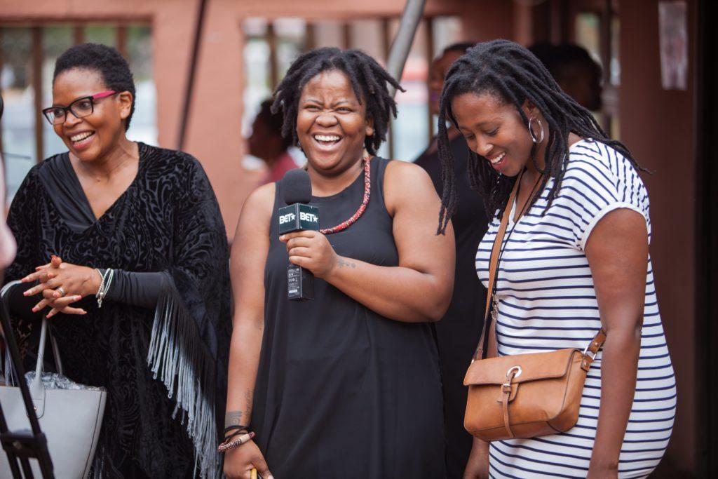 Florence Masebe, duduzile zamantungwa mabaso, Nozizwe Cynthia Jele at Abantu Book Festival